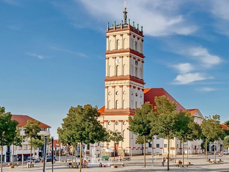 Marktplatz Neustrelitz