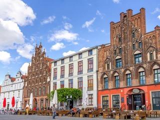 Giebelhäuser Greifswald