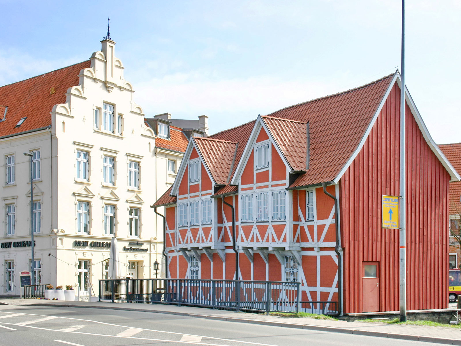 Gewölbe am Alten Hafen Wismar