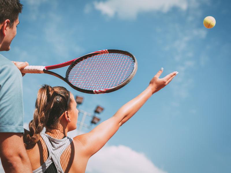 Tennis auf der Insel Sylt
