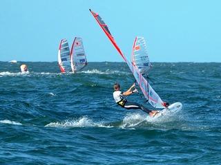 Windsurfen auf der Insel Sylt