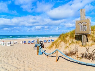 Strand Kampen - Buhne 16
