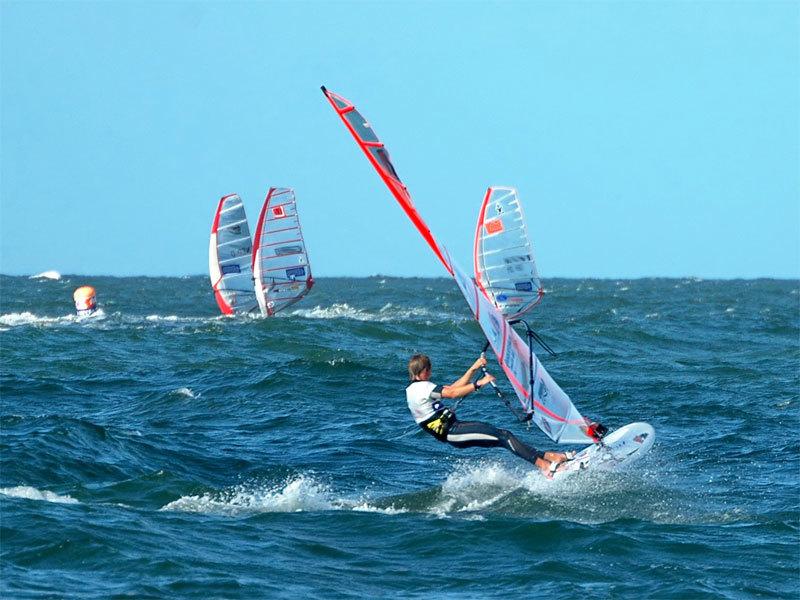 Windsurfen und Kiten vor Lubmin