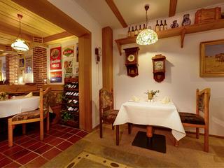 """Restaurant """"Die Uhr"""" im Hotel Horizont"""