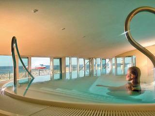Wellnessbereich im Strand-Hotel Hübner