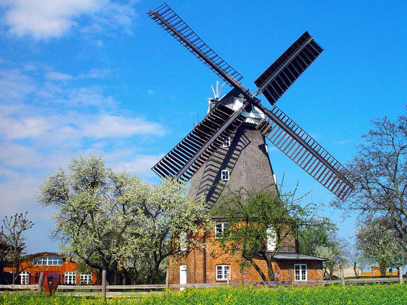 Windmühle - Mühlenhof Altkalen