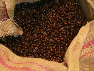 Kaffeerösterei-Arrangement