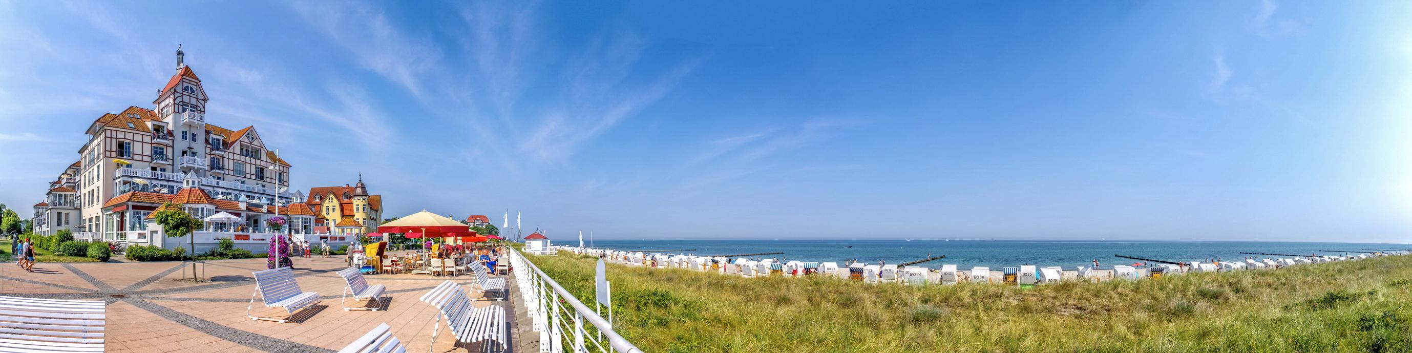 Panoramabild von Kühlungsborn