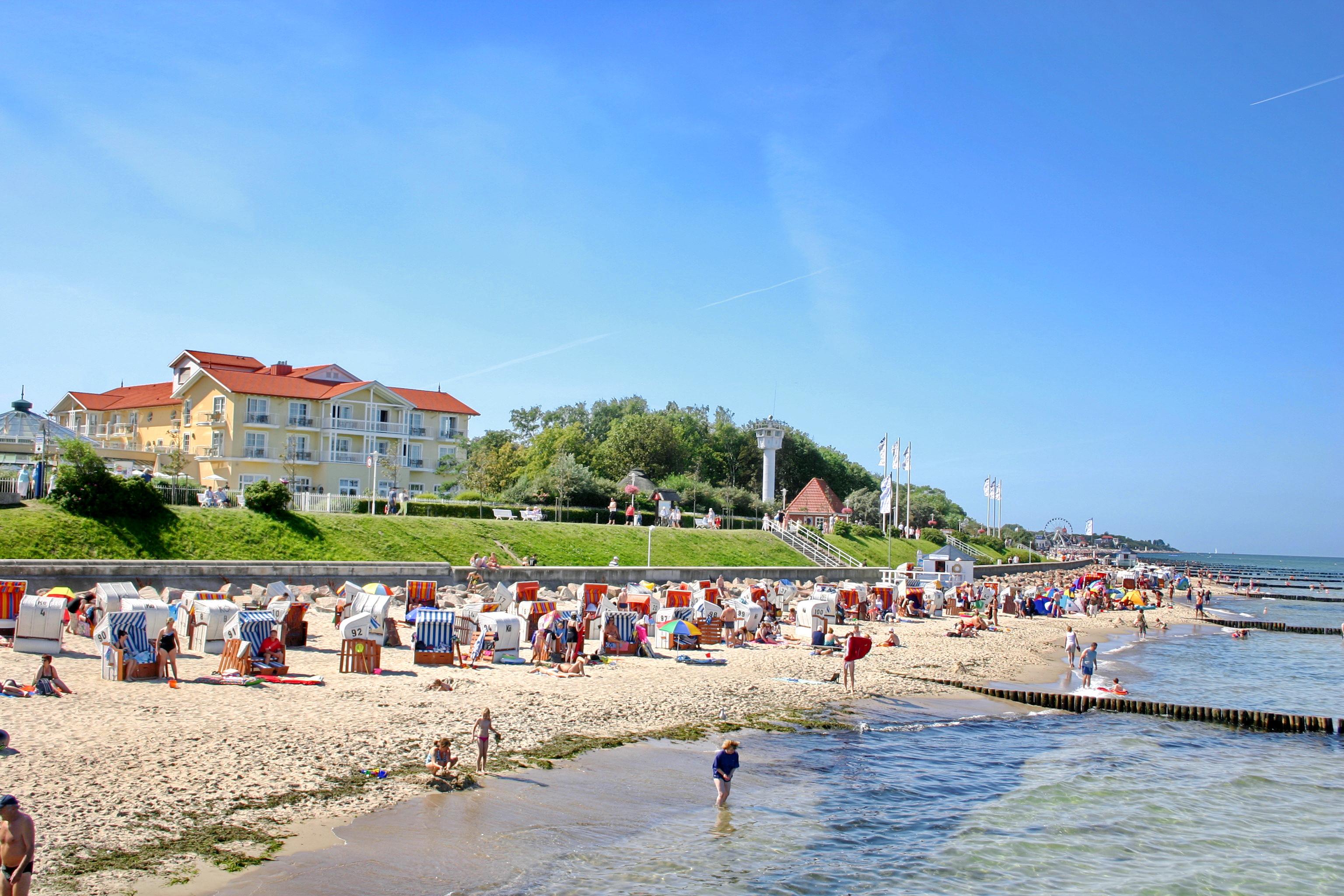 Strand und Uferpromenade
